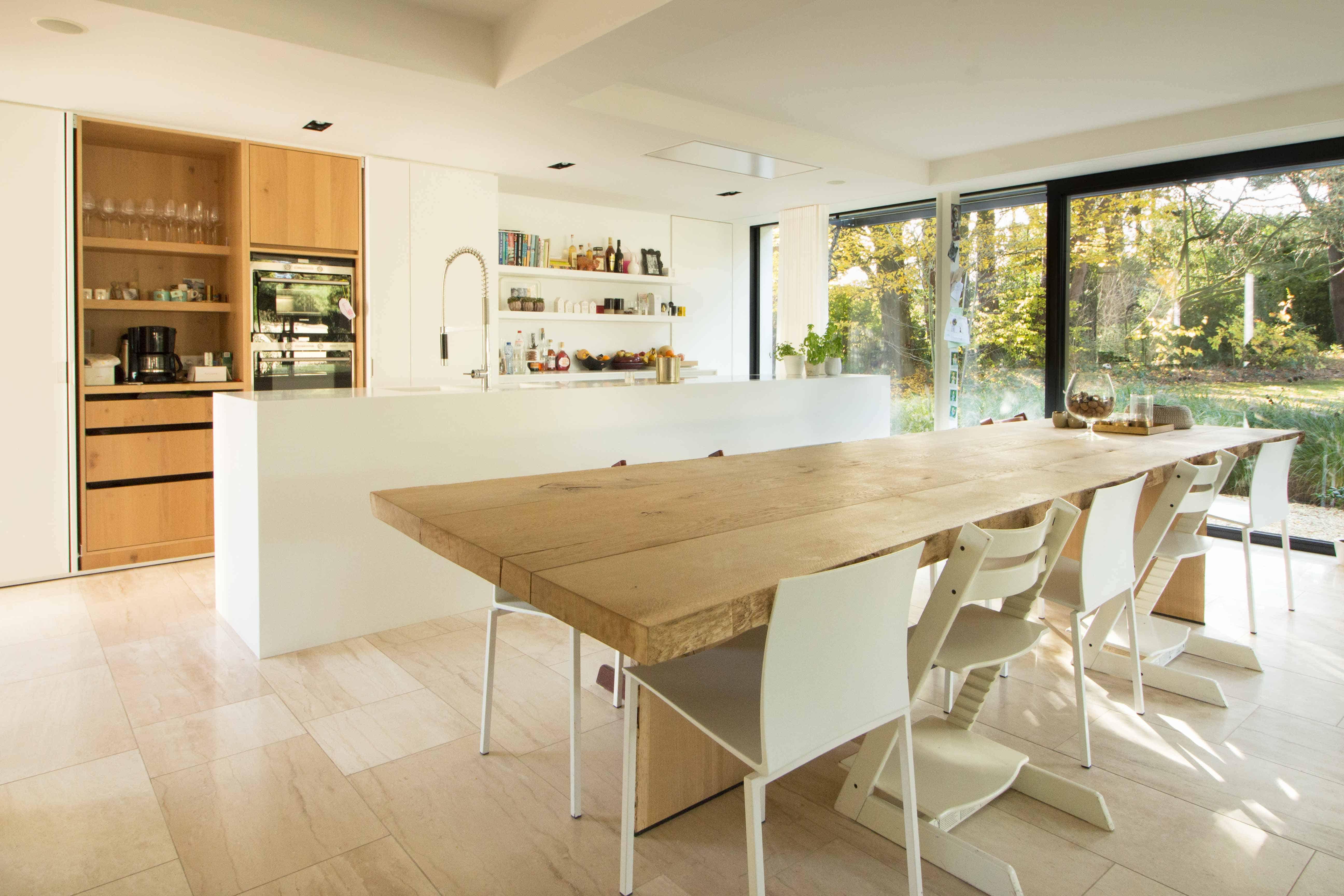 keuken in villa