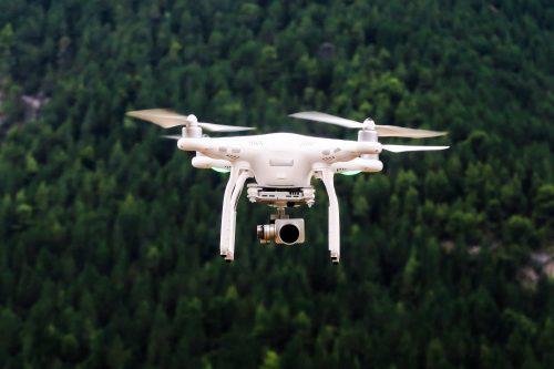 DJI drone voor luchtbeelden en drone fotografie