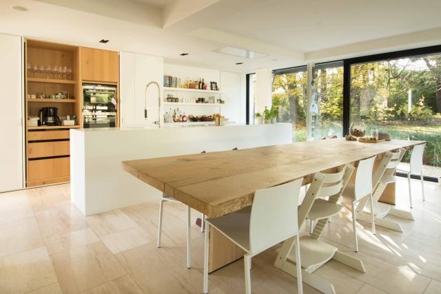 Interieur foto keuken in villa