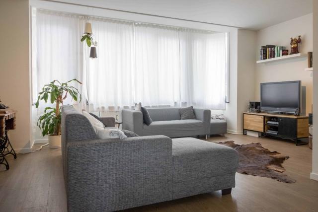 Interieur foto living woning in Hasselt achterzijde