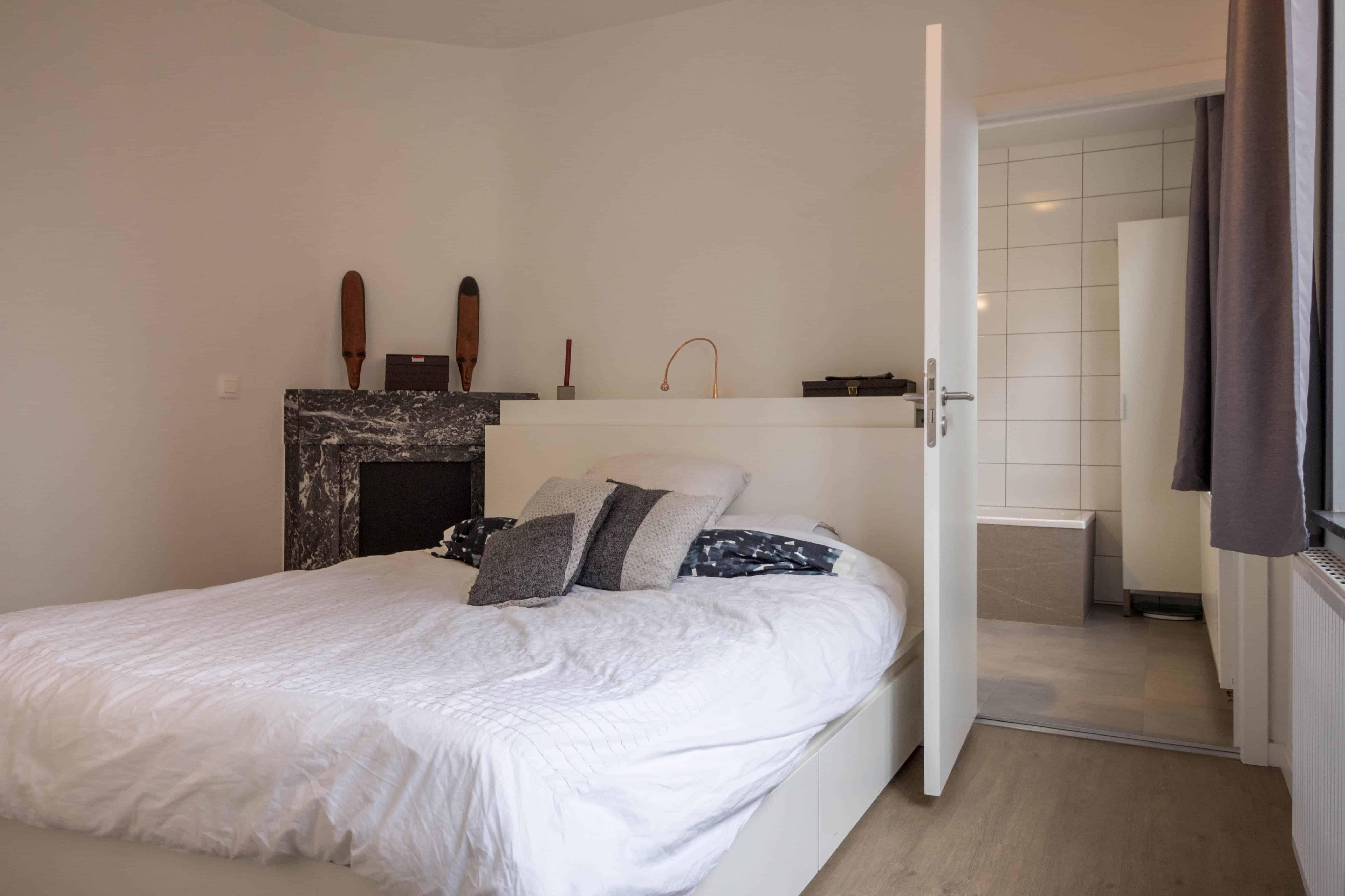 Interieur foto slaapkamer woning in Hasselt