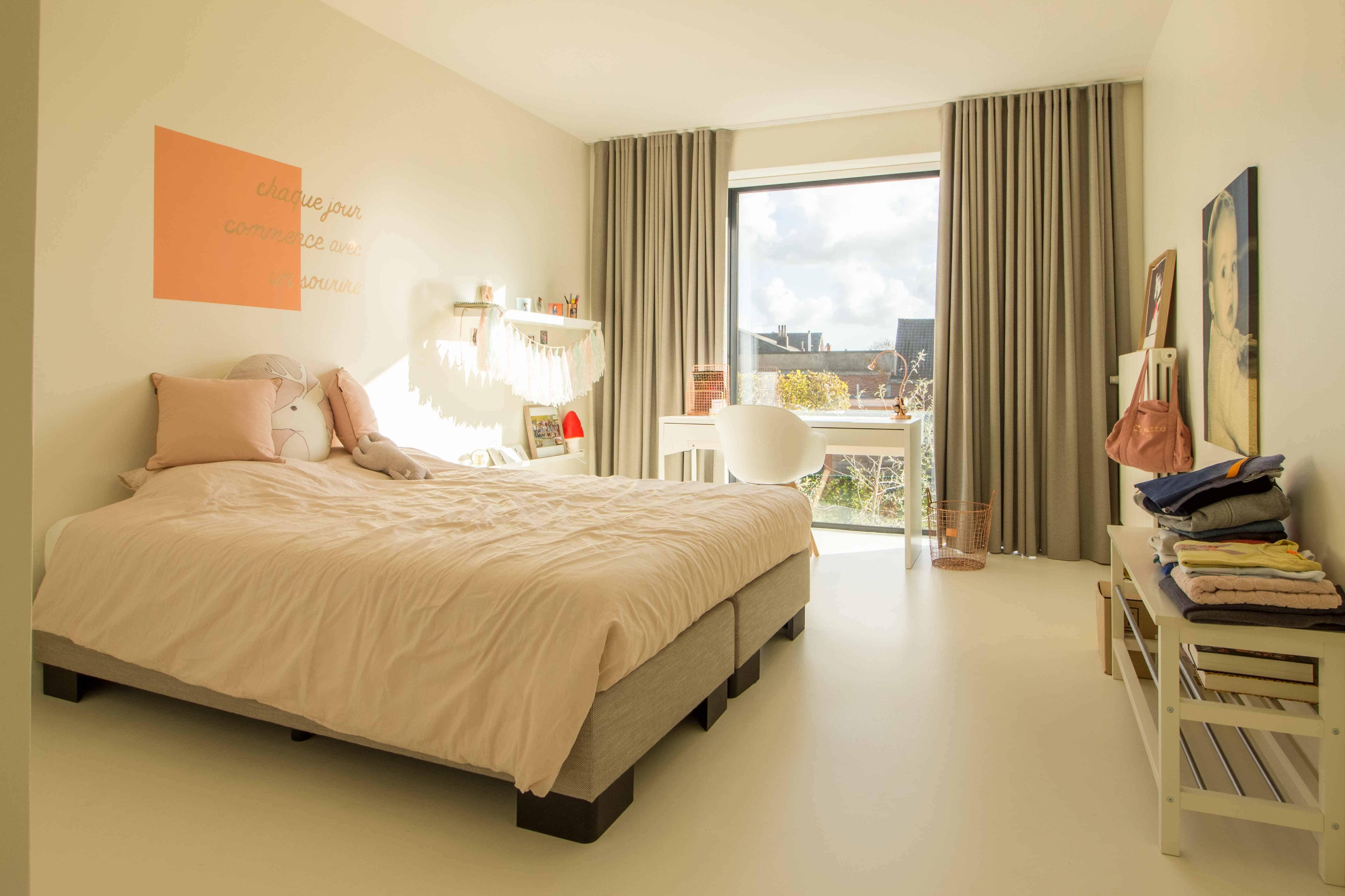 Interieur foto van een meisjes slaapkamer villa