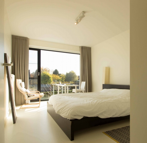 gasten slaapkamer in villa
