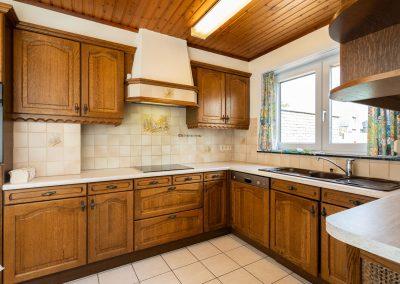 interieur landelijke keuken in hout